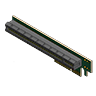 Reversed PCIe 4x to 16x Riser