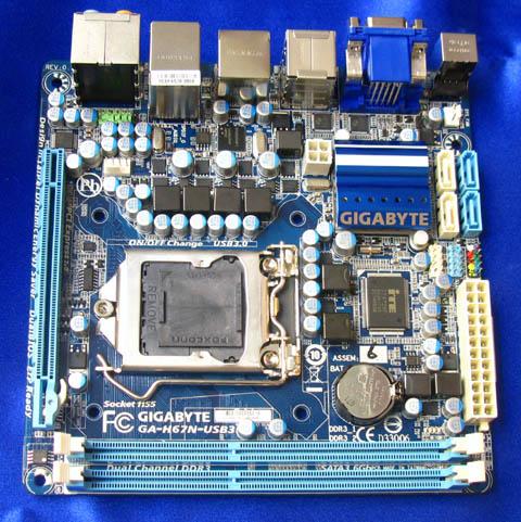Gigabyte GA-H67N-USB3 mini-ITX Motherboard
