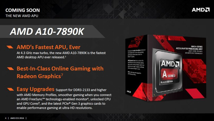 AMD Launches A10-7890K Desktop APU - Small Form Factor Network