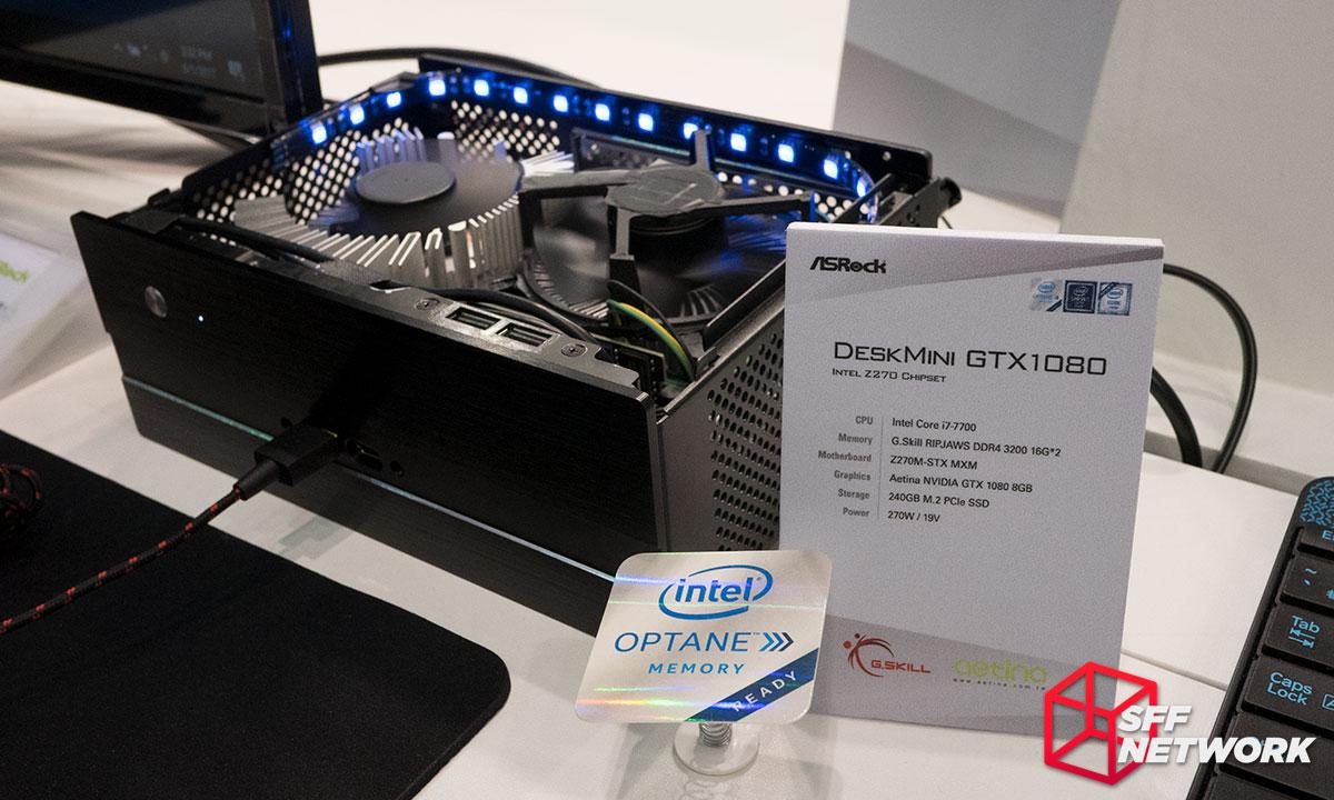 ASRock Micro-STX DeskMini GTX 1080 MXM Computex 2017