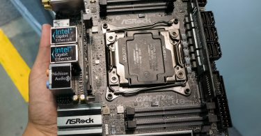 ASRock X299E-ITX/ac Little Monster detailed