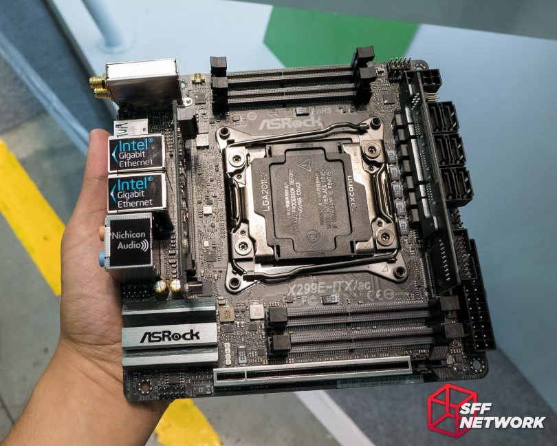 ASRock X299E-ITX/ac hands on