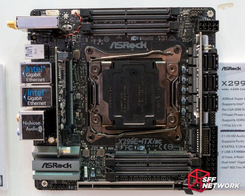 ASRock X299E-ITX/ac top