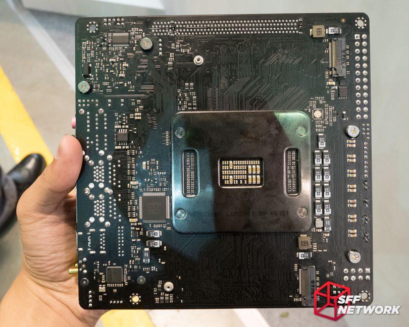 ASRock X299E-ITX/ac back