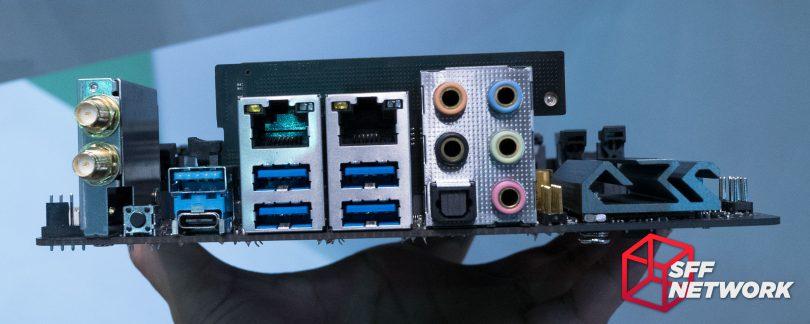 ASRock X299E-ITX/ac rear IO