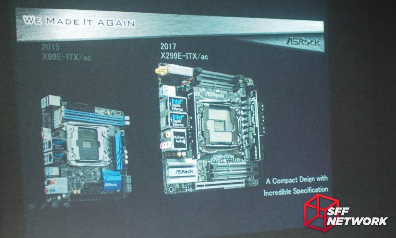 ASRock X299E-ITX/ac X99E-ITX/ac X99 X299