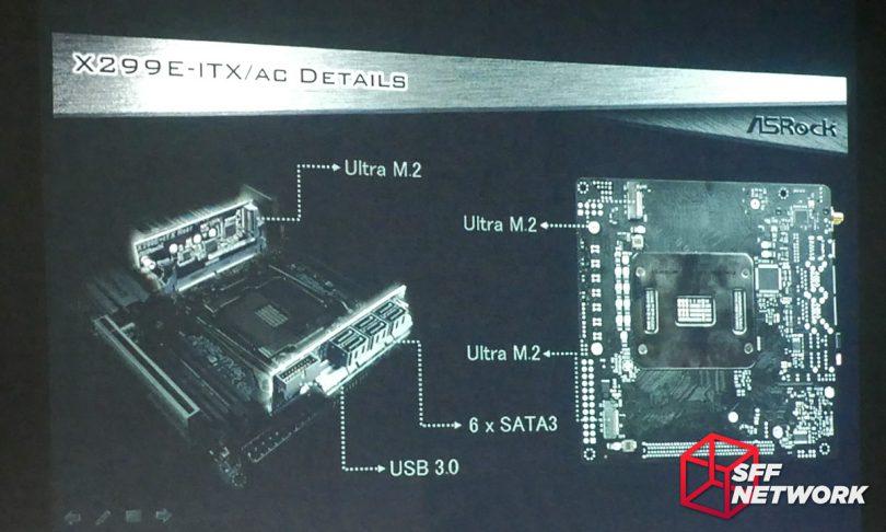 ASRock X299E-ITX/ac X99E-ITX/ac X299 M.2