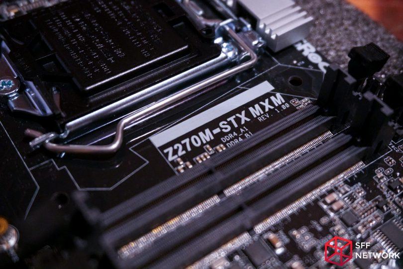 ASRock Z270M-STX MXM SODIMM