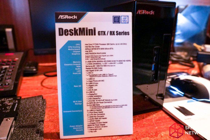 ASRock Z270M-STX MXM specs