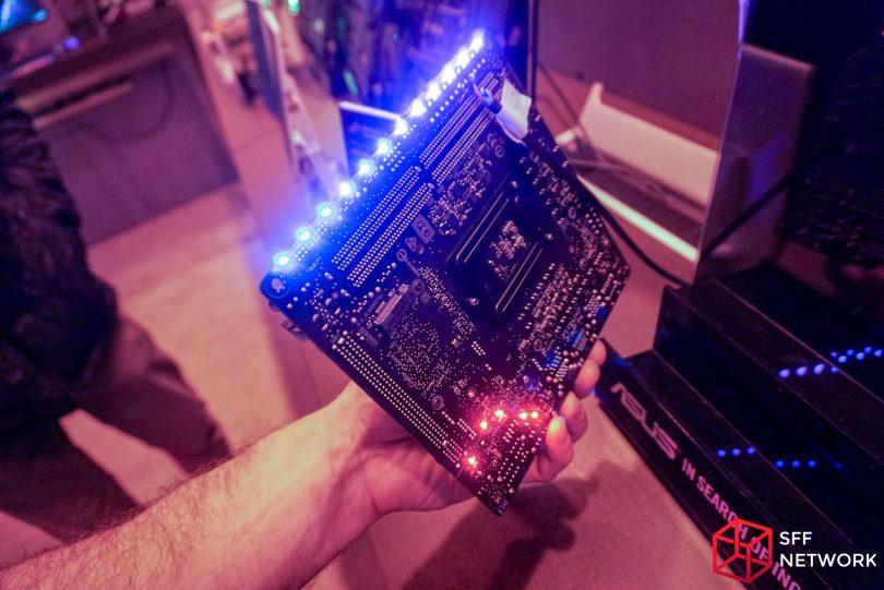 ASUS STRIX Z270I Gaming backside