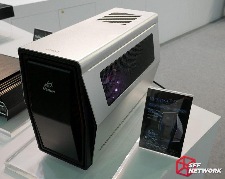 Akasa Venom RG Mini-ITX case Computex 2017