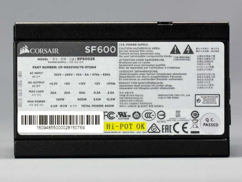 Corsair-SF600-side-label