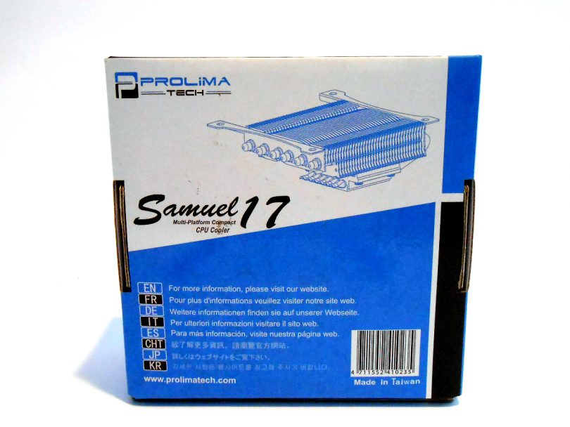 Prolimatech Samuel 17 Box Rear