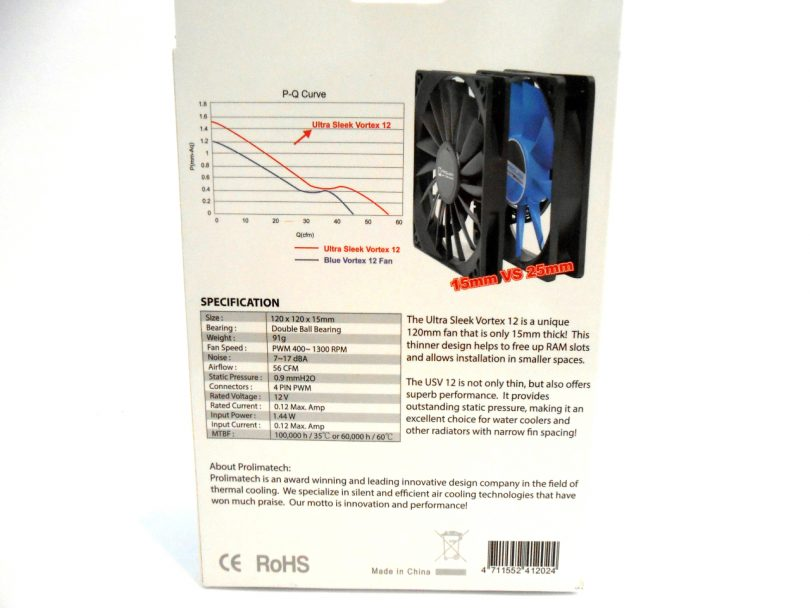 Prolimatech Vortex 12 Box Rear