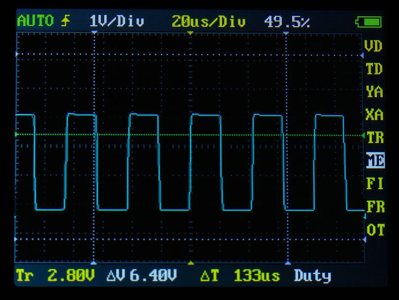 Some motherboard manufacturers use ambiguous wording in the manual and spec sheets to cover up that the chassis headers are compatible with PWM fans, but only have DC control. Fan control is a pet peeve of mine so I picked up a simple oscilloscope (a DSO Nano v1) to use in conjunction with a PWM y-splitter to verify each fan header. I'm very pleased to report that all the fan headers on the EVGA X99 Micro2 are PWM capable. Not only that, but sometimes the second CPU header is just slaved to the main CPU header, but CPU2 on the Micro2 is independently controllable. The fan settings in the BIOS are pretty straightforward. There are 3 modes: Smart, Max, and manual. Smart mode is a user-configurable fan curve that allows four temp/fan speed points to be inputted with the temp pinned to either CPU, PWM (I'm assuming this is the motherboard VRM), or SYS. Max is full speed and Manual allows the fan to be manually fixed at a certain duty cycle percentage. The chassis headers have a setting to toggle between PWM and DC modes.