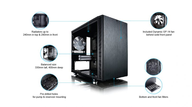 Fractal Design Define Nano S feature 1