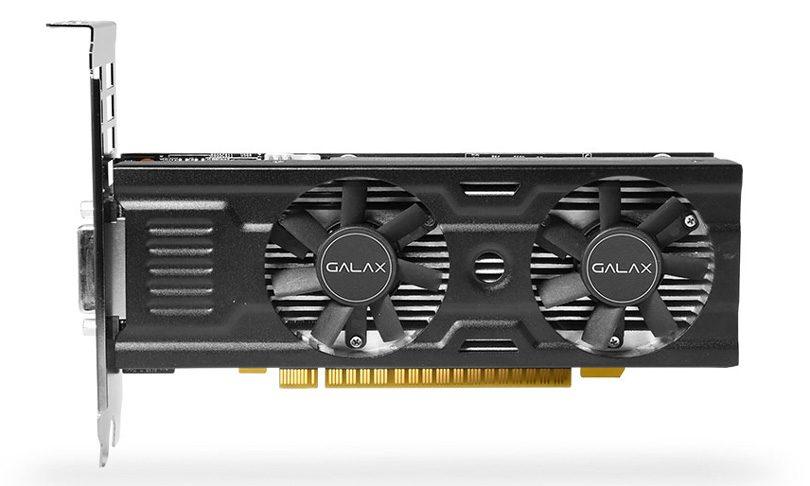 GALAX GeForce GTX 1050 Ti OC LP