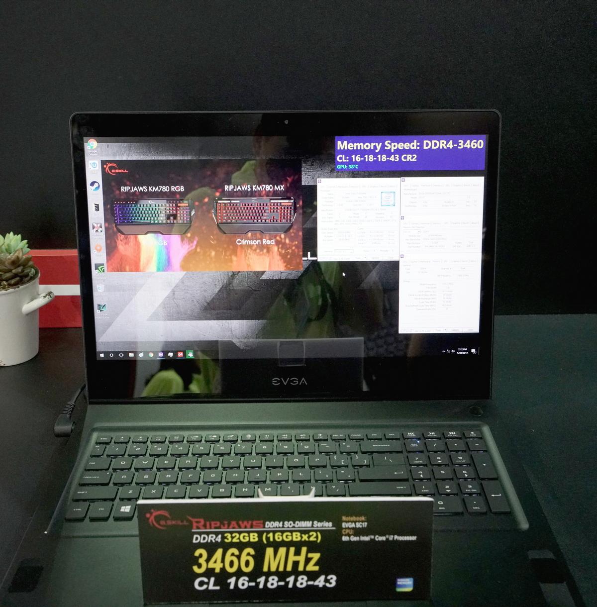 G.SKILL 3466MHz DDR4 SODIMM