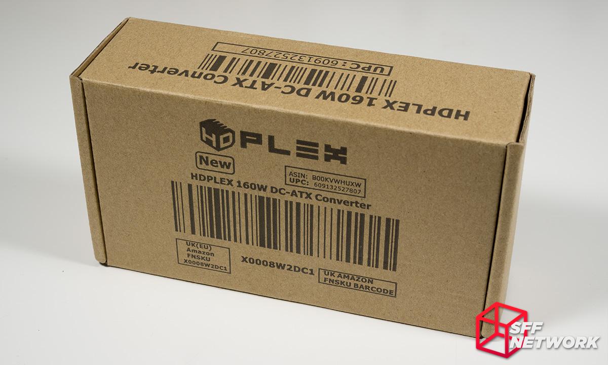 HDPLEX 160W DC-ATX direct-plug review - Small Form Factor Network