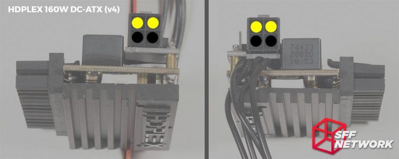 HDPLEX 160W DC-ATX direct-plug v4 pinout