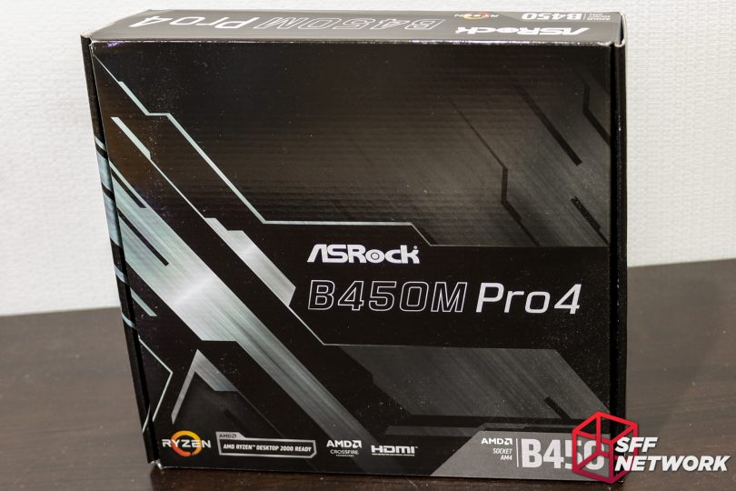 ASRock's B450M Pro4 - M-ATX, Fully Featured - Small Form