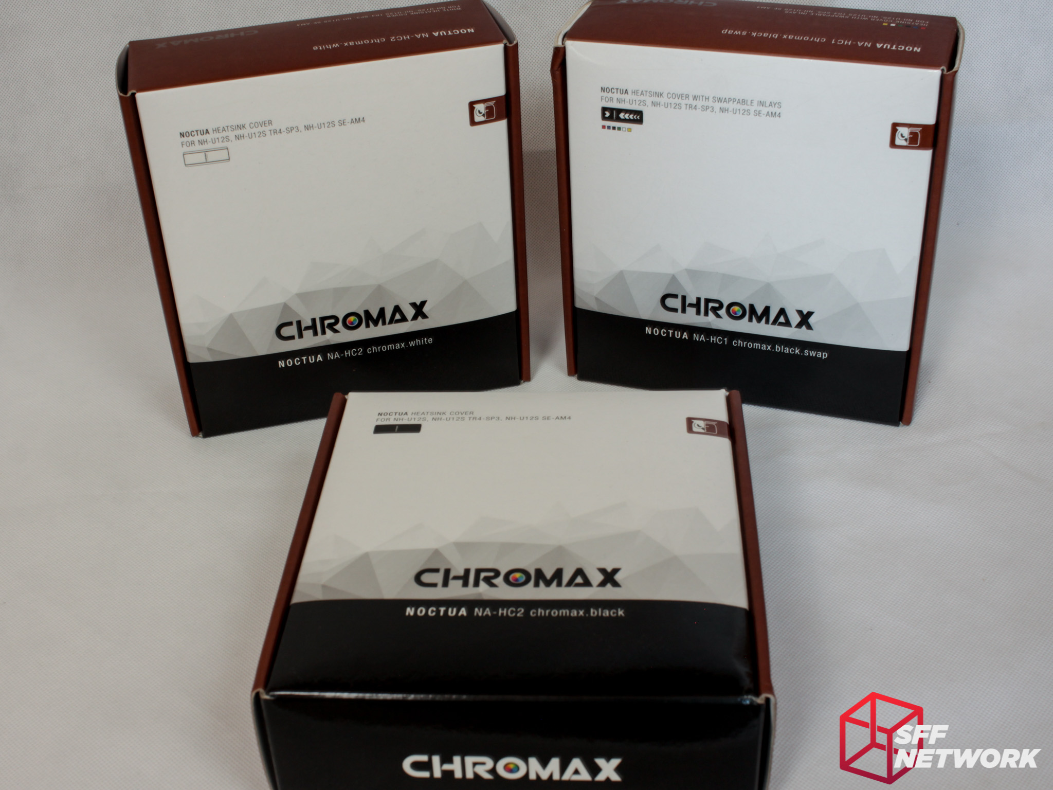 Noctua's Chromax - Custom Without RGB LEDs - Small Form Factor Network