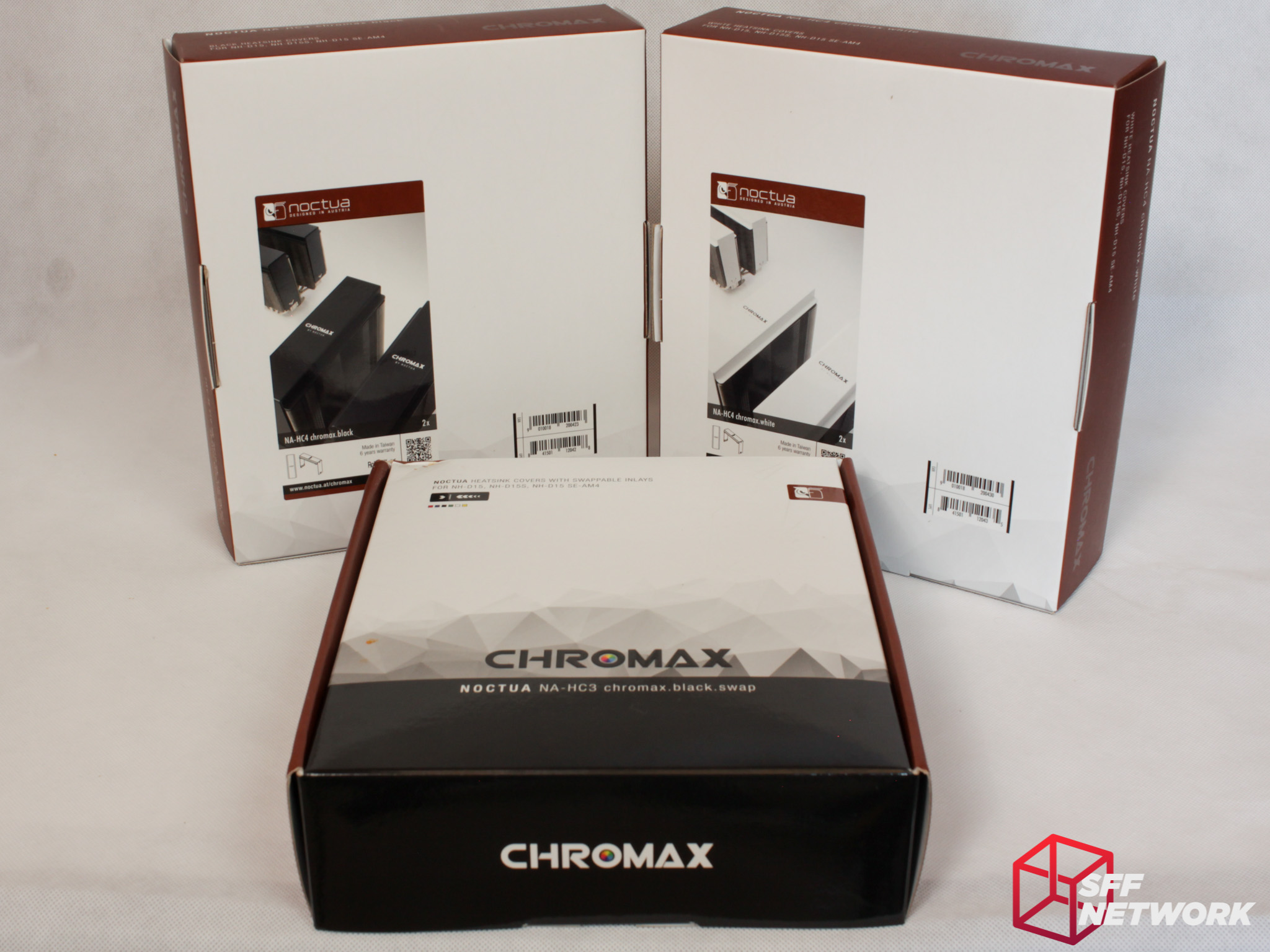 Noctua's Chromax – Custom Without RGB LEDs – SFF Network