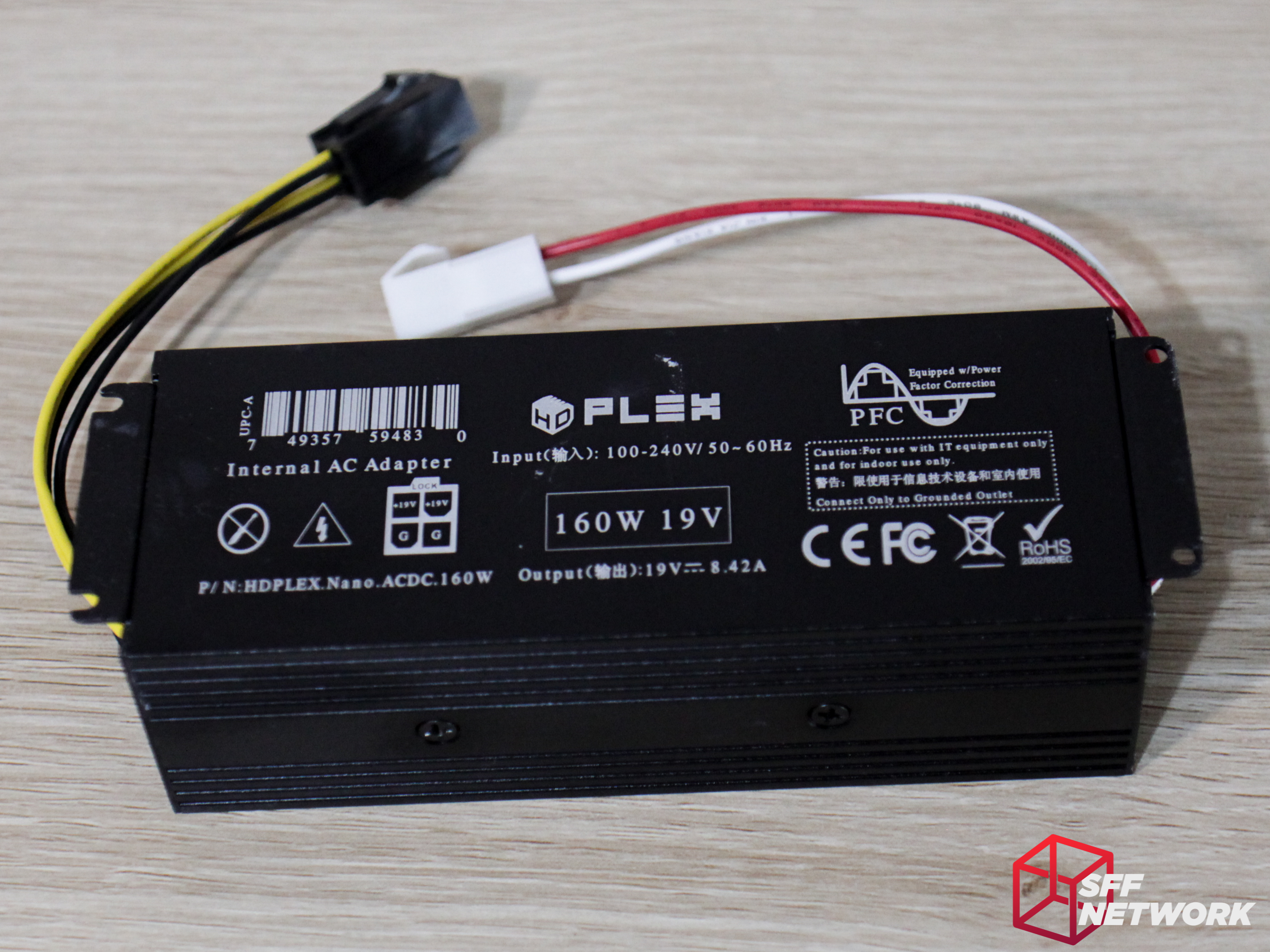 Hdplex Ac Dc 160w And 300w A Powerful Solution Small Form Power Supply Built In Emi Filter With Overload Short Circuit The Has No Ventilation Holes All Heatsinking Is Done By Extruded Aluminium Shell Which We Will Look At More Closely While