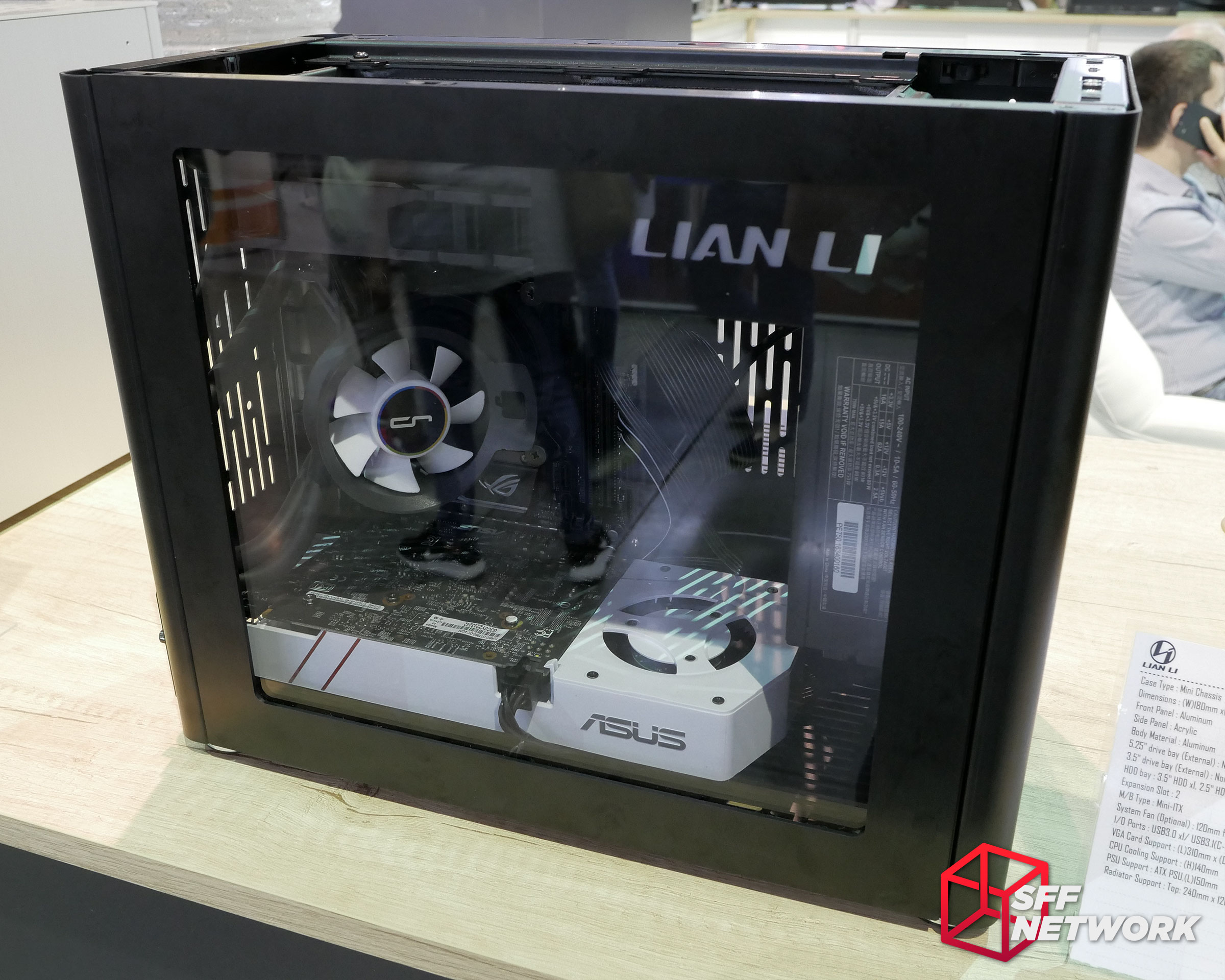 Lian Li Pc Q38 Itx Case New Pcie Extenders And More