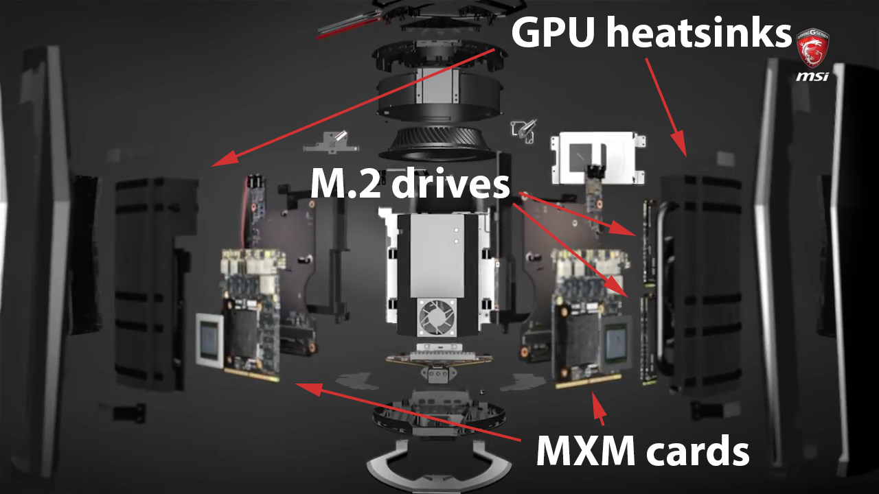 MSI introduces Vortex – the world's most powerful trashcan
