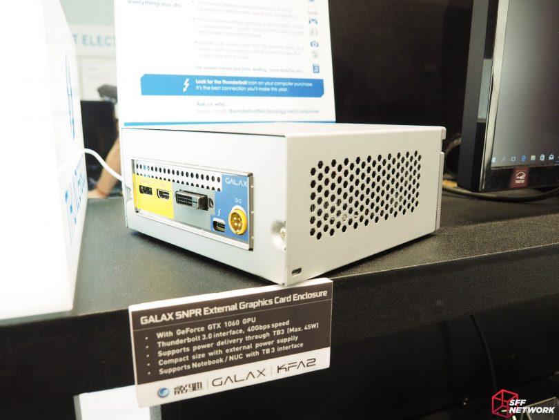 GALAX SNPR TB3 1060 eGPU – Thunderbolt Enclosures