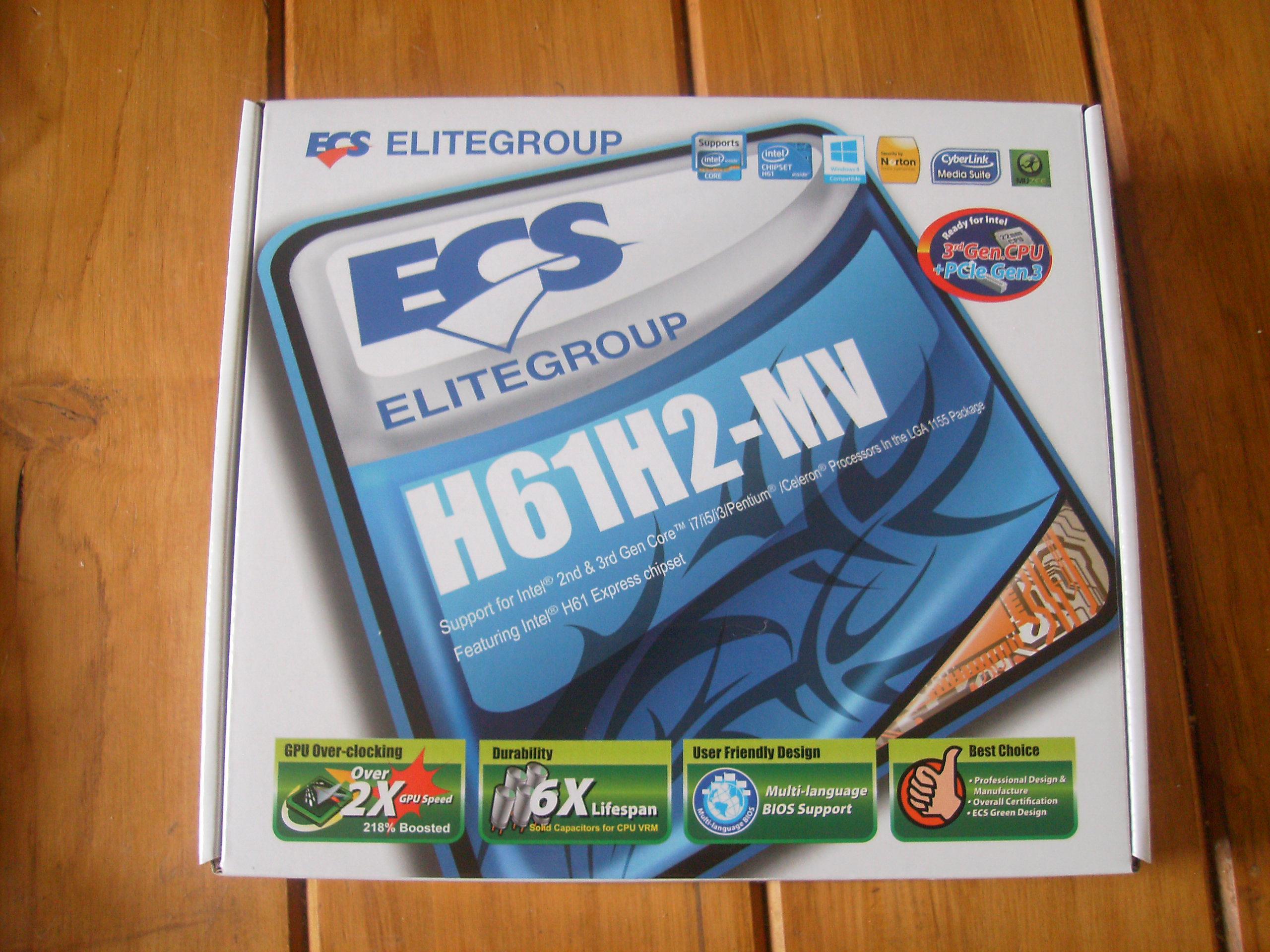 Driver Ecs H61h2-mv 1.0