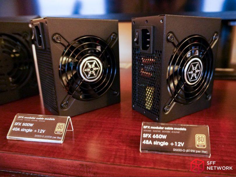 SilverStone SX500-G SX650-G fan grill