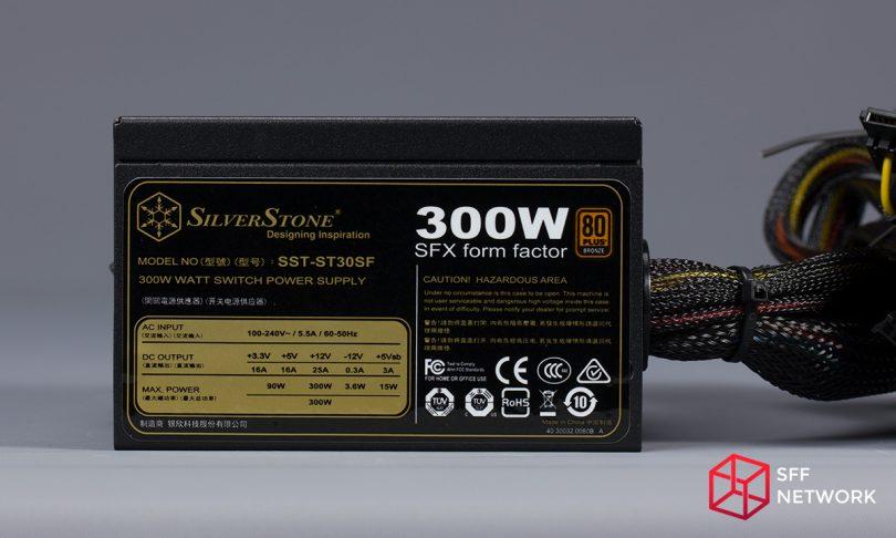 SilverStone ST30SF V2 label