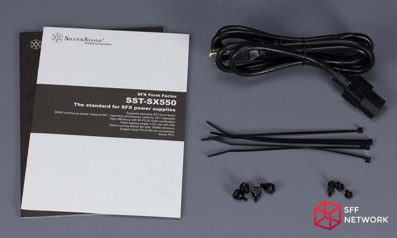 SilverStone SX550 accessories