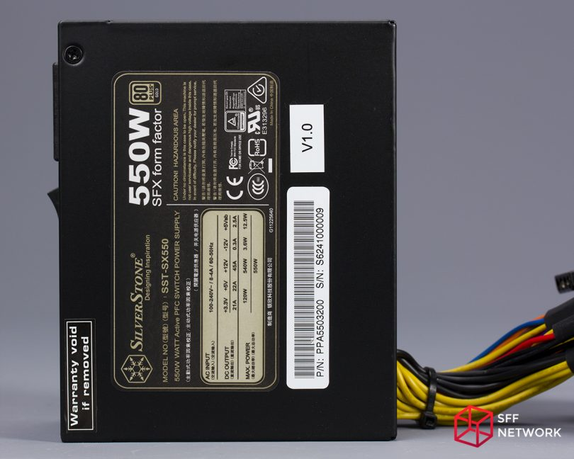 SilverStone SX550 bottom