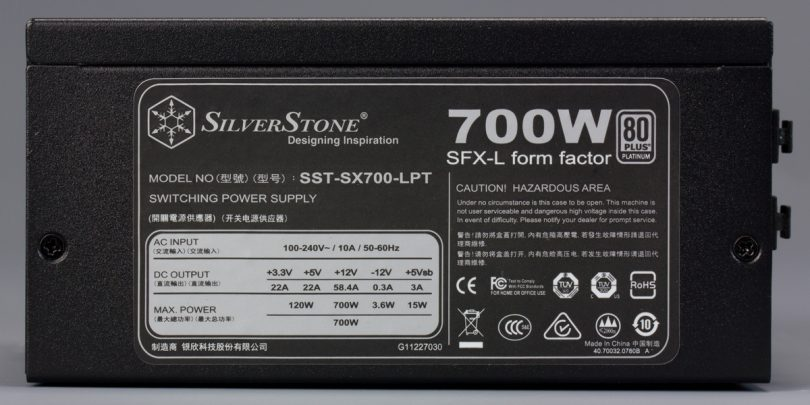 SilverStone-SX700-LPT-review-PSU-sticker
