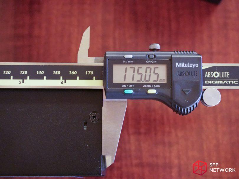 SilverStone TX300 length